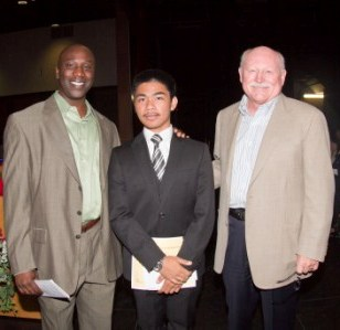 Larry Manalo - Morgan Family Foundation Scholarship recipient