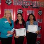 Carolina Arriaga &  Lizbet Ochoa - Class of '65 Recipients