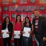 Lorena Hernandez, Aylinn Ruiz, Arely Sanchez- Macias Family Recipients